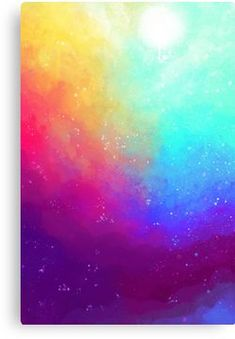 Galaxy Sky Canvas Print