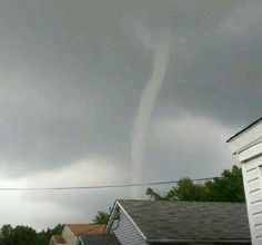 Stirring up Labor Day weekend: Waterspout photos from Baltimore County on Sept 2 2012
