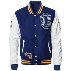 UCLA Payne Varsity Jacket ($73) ❤ liked on Polyvore featuring men's fashion, men's clothing, men's outerwear, men's jackets, jackets, varsity jackets, men, mens letterman jacket, mens varsity bomber jacket and mens varsity jacket Varsity Jackets, Men's Jackets, Men's Outerwear, College Outfits, Men's Clothing, Cool Outfits, Men's Fashion, Bomber Jacket, Polyvore