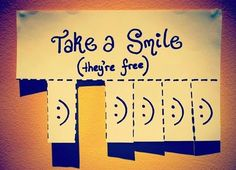 smile for free