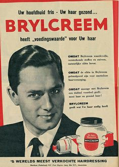 adv brylcream 1956 | Flickr - Photo Sharing! Vintage Advertising Posters, Advertising Signs, Vintage Advertisements, Vintage Ads, Vintage Posters, Barber Poster, Man 2, Underwater Photography, Memories