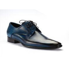 86d0fa3c3938 Pánska elegantná kožená obuv COMODO E SANO čiernej farby ...