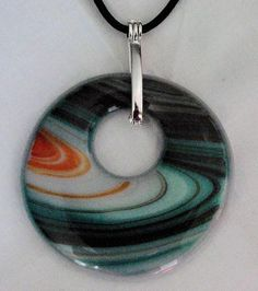 Fused Glass Fused Glass, Washer Necklace, How To Make, Jewelry, Jewels, Schmuck, Jewerly, Jewelery, Jewlery
