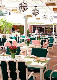 Hotel Pretty: Beverly Hills Hotel's Cabana Cafe | the pretty crusades