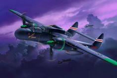 Northrop P-61A/B Black Widow