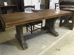 Custom Pine Trestle Tables