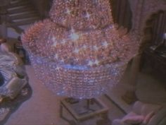 chandelier, glitter, and pink image Boujee Aesthetic, Aesthetic Vintage, Aesthetic Photo, Aesthetic Pictures, Angel Aesthetic, K Fashion, Soft Grunge, Pastel Grunge, Vaporwave