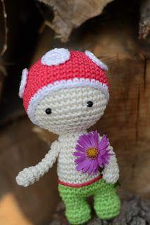 Mini panenka s velkou hlavičkou - NÁVODY NA HÁČKOVÁNÍ  8e32b3a4a2