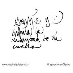 Sonríe y disfruta la suavidad de tu cuello  #InspirahcionesDiarias por @CandiaRaquel  Inspirah mueve y crea la realidad que deseas vivir en:  http://ift.tt/1LPkaRs