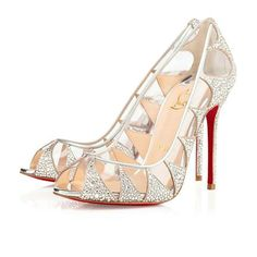 Christian Louboutin New Very Prive Patent Red Sole Pump  Black/Red on shopstyle.com
