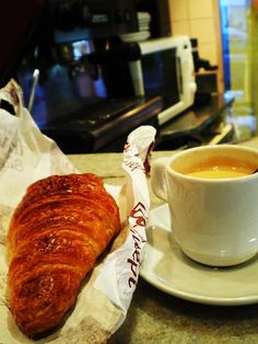 a traditional french breakfast