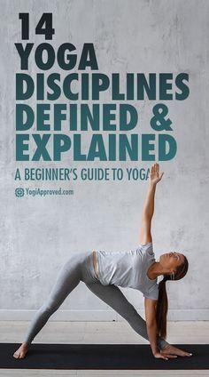 Yoga for beginners - different yoga styles explained. Yoga ideas, yoga tips, yoga inspiration, yoga info
