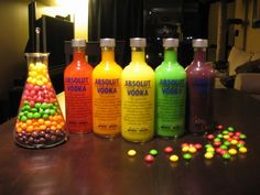 Vodka + Skittles = Yum?!