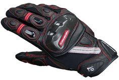 コミネ(Komine) GK-160 Protect Leather M-Gloves BRAHMA BLACK/RED L 06-160:Amazon.co.jp:カー&バイク用品