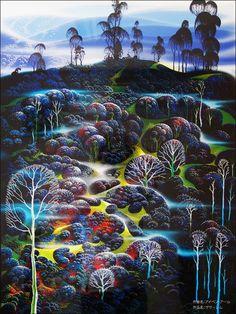 Eyvind Earle - I love his art.