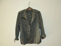 Vintage Army Jacket Mens or Womens / Army by IndividualsBodega, €50.00