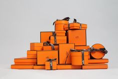 There's something about a little orange box ...