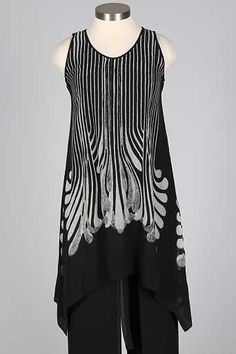 b4cbd40b452 Tank Dress Plus - Black & Grey Black Tank Dress, Size Clothing, Plus Size