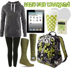Lazy fall weekend outfit?? Yes please<3
