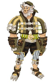 Character Design from Lime Odyssey: The Chronicles of Orta