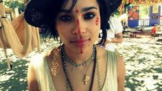 Boho... Although I don't think Kat would wear the make up.