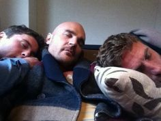 Let sleeping gods lie ... ;) The Almighty Johnsons last day of shooting for series 3, May 2013