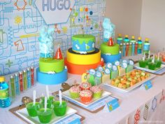 Little Big Company | The Blog: Professor Hugo's Science Themed 8th Birthday Party by Crackers Art #Science Party birthday parties, scienc theme, birthdays, parti theme, scienc parti, 8th birthday, parti idea, science party, mad scientist party