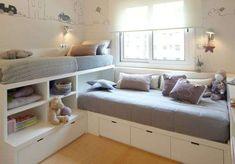 Ideas para ahorrar espacio con camas multifuncionales (Foto 7/31) | Ellahoy