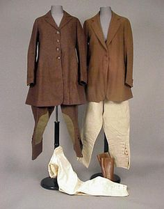 Group of Woman's Riding Clothes  American, 1920s