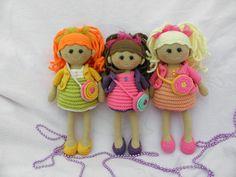 Три подружки-кудряшки) - Рукоделие - Babyblog.ru