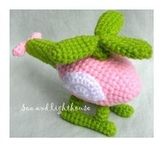 Crochet pattern - Helicopter  from: crafsty.com