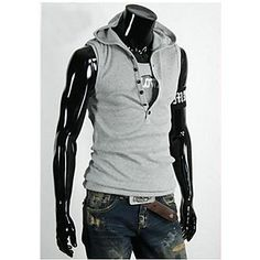 ByTheR 100/% Cotton Black Unbalance Hem Lettering Layered Sleeveless Tank Top CA