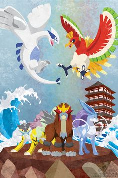 Johto Legends by m-dugarchomp.deviantart.com on @deviantART
