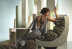 The Interpretation: by Eugenio Recuenco. Inspired by Tamara de Lempicka.