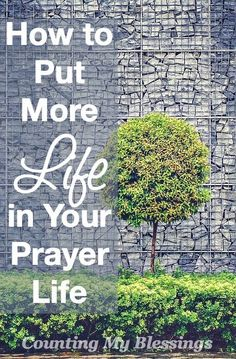 Most people say they would like to have a more engaged prayer-life. Check out these 10 ways to add life to your prayers.