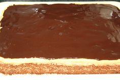 Blat cacao : 6 oua 11 lg zahar 5 lg apa rece 5 lg faina 5 lg nuci macinate 1 lg cacao Blat alb : 2 oua 2 lg zahar 2 lg faina Caramel : 7 lg zahar 2 lg unt Crema : 5 oua 14 lg zahar 4 lg ness 400 g unt Glazura : 150 g ciocolata neagra 50 g unt 4 lg lapte Mod de preparare : Blat cacao : mixam albusurile spuma, adaugam zaharul, galbenusurile pe rand, apa treptat, mixand mereu, iar la final faina amestecata cu pudra de cacao si nucile macinate (eu am avut bucatele de migdale). Compozitia o…