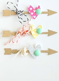 easy cupids arrows to make