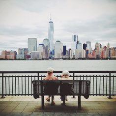 Enjoying the view ~ NYC skyline