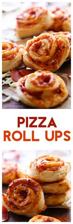 Pizza Roll Ups | Chef-In-Training | these are SO simple and a family favorite! Picky eaters love them! They are super delicious!