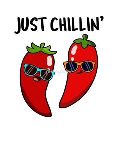 Just Chillin' Pepper Food Pun by punnybone - Food Meme - Just Chillin' Pepper Food Pun by punnybone The post Just Chillin' Pepper Food Pun by punnybone appeared first on Gag Dad. Funny Food Puns, Punny Puns, Cute Jokes, Cute Puns, Food Humor, Funny Cute, Funny Puns For Kids, Food Meme, Tgif Funny
