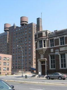 Van Houses Northeast From Mother Gaston Blvd Near Dumont Avenue Brownsville Brooklyn