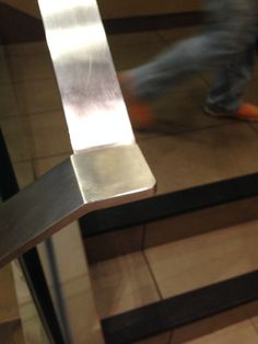 thin Stainess steel handrail. Shanghai