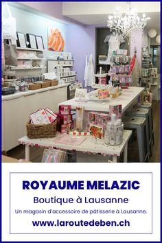 Avec deux adresses en Suisse, le royaume melazic saura combler les amoureux de la pâtisserie. #lausanne #geneve #suisse #cupcakes #patisserie Mini Cupcakes, Boutique, Bar Cart, Furniture, Home Decor, Accessories Store, Decorated Sugar Cookies, Love Birds