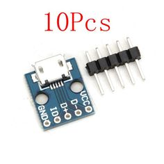 Electronic Components & Supplies 10pcs 16 Bit Ws2812 5050 Rgb Led Full-color Built-in Driving Lights Round Development Board In Pain Active Components