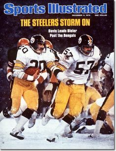 Rocky Bleier, Football, Pittsburgh Steelers - 12.06.76 - SI Vault