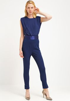 jumpsuit blue overalls miss selfridge und blau. Black Bedroom Furniture Sets. Home Design Ideas