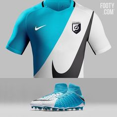 2/3 #FootyConcepts Clean! What do you think of this Motion Blur shirt? Would you like to see it made?