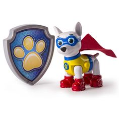 Paw Patrol Apollo The Super Pup Action Pup & Badge