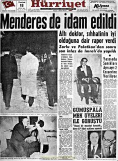 Hürriyet gazetesi 18 eylül 1961