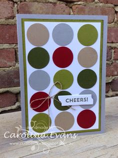 Christmas NEW Merry Moments DSP inspired Punch Art Design Cards using Stampin' Up! Products created by Carolina Evans 2015-2016 Stampin' Up! Annual Catalogue #stampinup